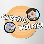 Design ~ Careful, Wolfie! Coffee Mug