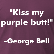Design ~ Purple Butt - American Apparel