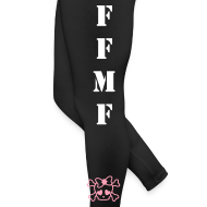 Design ~ Funeral For My Fat leggings