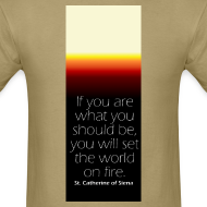 Design ~ Set The World On Fire Tee