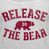 Design ~ Release the Bear - Women's - Grey Tank