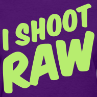 Design ~ I shoot raw