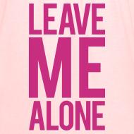 Design ~ Leave me alone | Womens flowy tank