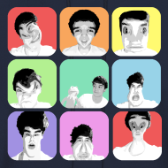 Design ~ 1D - Liam's Selfies
