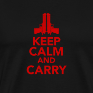 Design ~ Premium Tee: Keep Calm