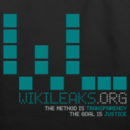 Design ~ WikiLeaks Supporter (incl $35.20 donation)