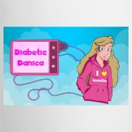 Design ~ DiabeticDanica Logo Mug