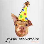 Design ~ Happy Birthday in French