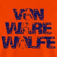 Design ~ Von Ware Wolfe - Mens - T-shirt