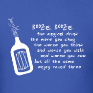 Design ~ Booze (Men's Shirt)