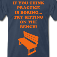 Design ~ Sitting on the bench Tee