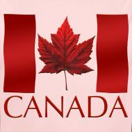 Design ~ Canada Flag Souvenir Baby Creeper Canadian Souvenir Baby Romper