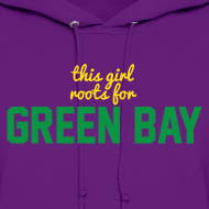 Design ~ This Girl Roots For Green Bay