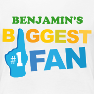 Design ~ Sports Biggest Fan personalized womens t-shirt