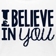 Design ~ I Believe in You | Glitter Black | Women's