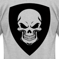 Design ~ Gray With Black Shield
