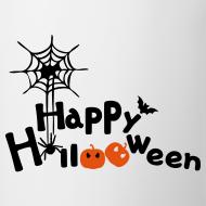 Design ~ happy halloween Contrast Coffee Mug