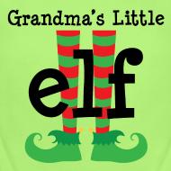 Design ~ Cute Grandkid Christmas Elf Baby Tshirt