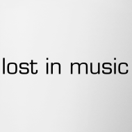 Design ~ lost in music mug