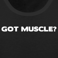 Design ~ Got muscle | Mens tank