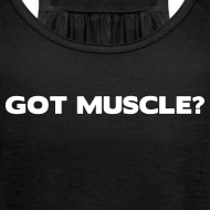 Design ~ Got muscle | Womens flowy tank