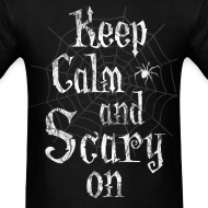 Design ~ Keep Calm Scary Halloween T-Shirts