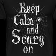 Design ~ Keep Calm Scary Halloween T-Shirts