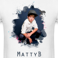 Design ~ Matty B Splash Mens T-Shirt