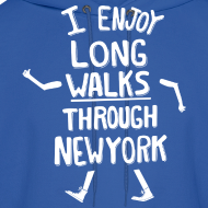 Design ~ I Enjoy Long Walks Through New York