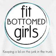 Design ~ Fit Bottomed Girls T-Shirt