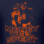 Design ~ Money Well Spent - Mens T-shirt - Dark Garment
