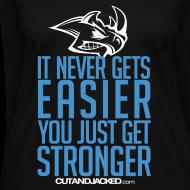 Design ~ Stronger| CutAndJacked | Womens Tee