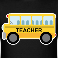 Design ~ Teacher Gift School Bus T-shirt