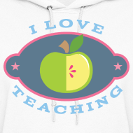 Design ~ Teacher Teaching Cute Gift Hoodie