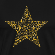 Design ~ Gold Star Shirt