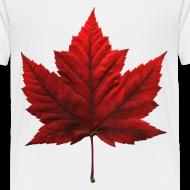 Design ~ Canada Baby T-shirt Maple Leaf Canada Souvenir