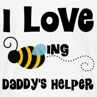 Design ~ Daddy's Helper Cute Kids Tshirt