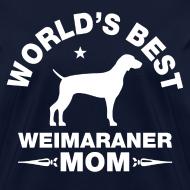 Design ~ weimaraner mom Women's T-Shirts