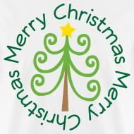 Design ~ Merry Christmas Tree Fun T-shirt