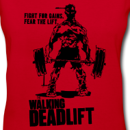 Design ~ Zombie Walking Deadlift | Womens tee