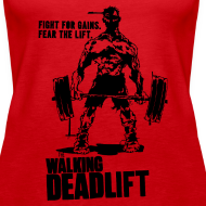 Design ~ Zombie Walking Deadlift | Womens tank