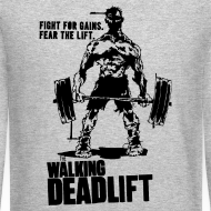 Design ~ Zombie Walking Deadlift | Mens jumper