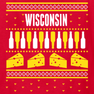 Design ~ Wisconsin Ugly Sweater