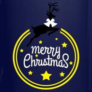 Design ~ Merry christmas reindeer Full Color Mug