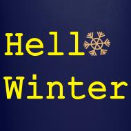 Design ~ Hello Winter Full Color Mug