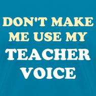 Design ~ NEW PRODUCT- Teacher Voice