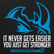 Design ~ It never gets easier D2 | mens tank