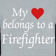 Design ~ My heart belongs to a Firefighter
