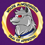 Design ~ Wolfie McWolfington Seal of Approval Women's
