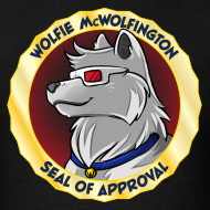Design ~ Wolfie McWolfington Seal of Approval Men's
